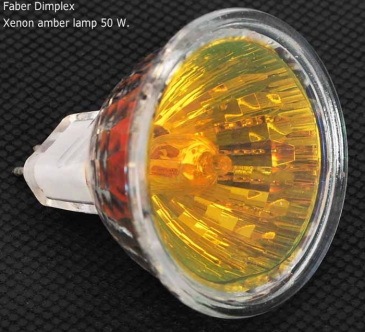 Faber opti-myst xenon-amber lamp