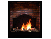 Ruby Fires steenmotief medaillon